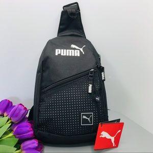 Puma sidewall Sling bag black